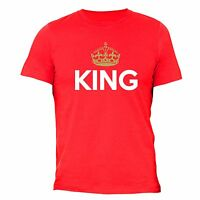 Father's Day gift tshirt King Crown Gold Matching Dad T-shirt Daddy Husband