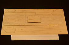 FUNTANA Laser Cut Short Kit, Plans & Instruction 56 in. wing span