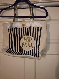 NEW Kate Spade New York TOTE Popcorn Bon Shopper Bag Daytripper Cinema City RARE