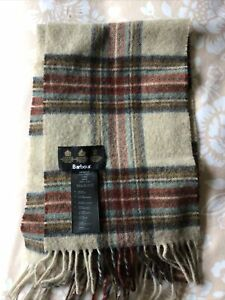 Barbour 100% Wool Scarf