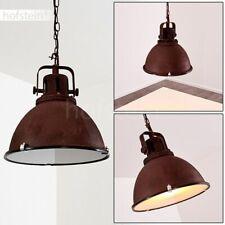 Vintage Pendel Hänge Lampen Wohn Schlaf Ess Zimmer Raum Beleuchtung rostfarben