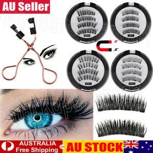 Magnetic Eyelash Set Curler Clip Quantum Kit False Eyelashes Eye Lashes Tool AU