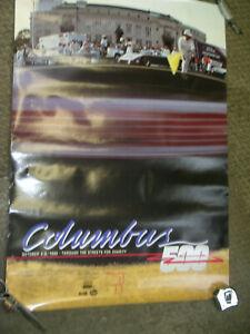 COLUMBUS 500 STREET RACE, 1985, POSTER
