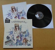 LADYHAWKE Ladyhawke 2008 UK limited vinyl LP + booklet & MP3 NEAR MINT