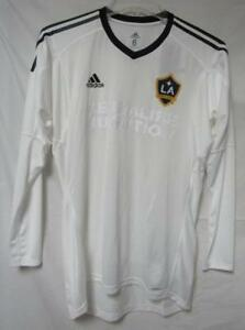 Los Angeles Galaxy Men's Size 6 (Medium) Adidas Adizero Goalkeeper Jersey A1 654