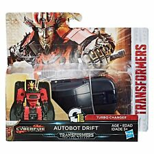 NEW-RARE Transformers L'ULTIMO CAVALIERE MOVIE 1-Step Turbo changer AUTOBOT DRIFT