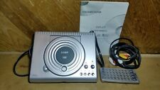 Coby DVD-417 2 Channel DVD Player with Home Theater Speaker System used once 1.0
