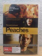 PEACHES DVD - RARE OOP - Hugo Weaving, Jacqueline McKenzie Emma Lung