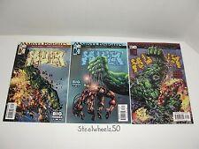 Incredible Hulk #71 73 74 Comic Lot Marvel 2004 Hulk Vs Iron Man Mike Deodato