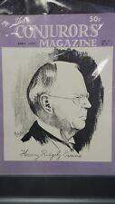 The Conjurors Magazine 1949 Henry Ridgely Evans Issue