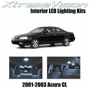 XtremeVision Interior LED Kit for Acura CL 2001-2003 (6 Pieces) Cool White