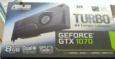 ASUS NVIDIA GeForce GTX 1070 8GB  USED