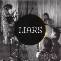 LIARS four songs (CD single, promo, 2007) noise, indie rock, very good condition