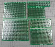 DIY Double-Side Plated Through Prototype PCB Board, 2x8 3x7 4x6 5x7 6x8 7x9 CM