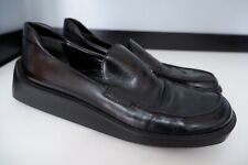 Prada Womens Loafers, Flat Shoes, Uk 5 Eu38 Black Leather, Vgc