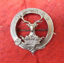 Gordons brooch badge