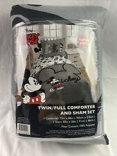 Disney Mickey Mouse Super Soft Twin/Full Comforter And Sham Set