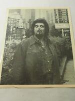 "WolfMan Jack in Hollywood Vintage Black White  8"" x 10"" Photo"