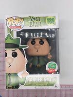 Funko Pop Animation Yogi Bear #189 Ranger Smith NOT MINT BOX F05