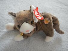 TY BEANIE BABY OF THE MONTH - MAY 2003 - CAPPUCCINO the CAT - CLUB MEMBERS ONLY