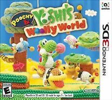 Poochy & Yoshi's Woolly World (Nintendo 3DS, 2017) GAME ONLY - FREE SHIPPING!
