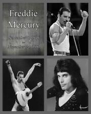 Freddie Mercury 1946 - 1991 Queen Singer 8 x 10 Glossy Poster Print Man Cave