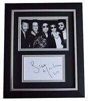 Steve Harley SIGNED 10x8 FRAMED Photo Autograph Display Cockney Rebel Music COA
