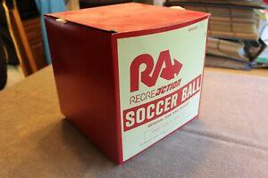 C. 1960's Seamless RecreAction soccer ball (unused in original box)