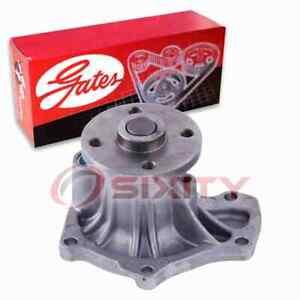 Gates Engine Water Pump for 2008-2015 Scion xB 2.4L L4 Coolant Antifreeze bz