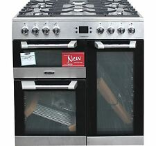 Leisure 90cm Dual Fuel Range Cooker CS90F530X in Stainless Steel 3 ovens #1545