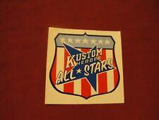 KUSTOM HEADER ALL STARS '70's vintage racing sticker decal