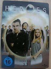 DVD - Heroes - Staffel 3.1. - Steelbook - Hayden Leslie Panettiere