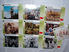Grolier Home School Story of America 10 Different Cards from Life In America