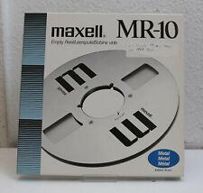 """maxell MR10 - reel to reel tape - Tonband - 1/4"""" - Aluspule NAB"""