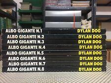 DYLAN DOG - ALBO GIGANTE DAL N°1 AL N°8 - BONELLI - BUONO STATO