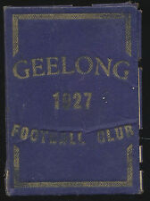 1927 Geelong Football Club Membership Season Ticket Cats r