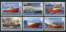 British Antarctic Ter BAT 2017 MNH RRS Ships Shackleton 6v Set Boats Stamps