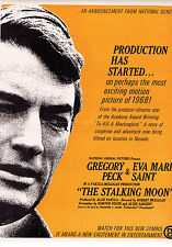 Motion Picture Daily Jan 9 1968 ads for Gregory Peck Stalking Moon The Graduate