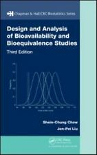 Design and Analysis of Bioavailability and Bioequivalence Vol. 27 by...