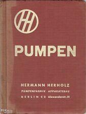 Herholz bombas fábrica Berlín catálogo bombas & accesorios lista 31 48 para 1933