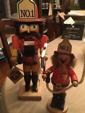 West Germany Ulbricht Fireman Nutcracker And Smoker