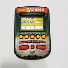Yahtzee Electronic Hand Held Game, Milton Bradley 1995 Classic Edition TESTED