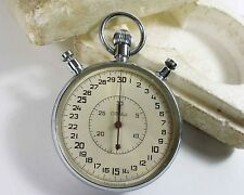 SLAVA Russian Soviet Stop Watch Mechanical stopwatch USSR (sl13)