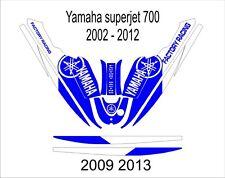 YAMAHA SUPER JET jet ski wrap graphics pwc stand up jetski decal kit 11