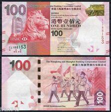 HONG KONG HSBC  100 Dolares 2010 Pick  214   SC /  UNC