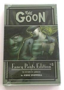 Neuf Signé Eric Powell The Goon : Déguisement Pantalon Édition Volume 3 - Year