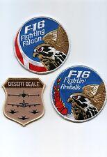 FIGHTING FALCON F-16 SWIRL COLLECTIONS: Set of three F-16 Swirls (any combo) c