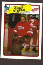 1988-89 OPC Hockey Greg Stefan #68 Red Wings NM/MT