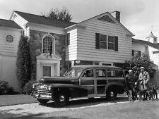 1948 Chevrolet Fleetmaster Woody Wagon Press 8 x 10  Photograph