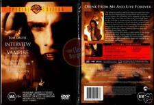 INTERVIEW WITH THE VAMPIRE Brad Pitt Tom Cruise NEW DVD (Region 4 Australia)